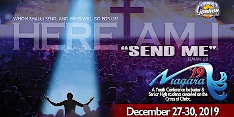 Niagara 19: Here Am I, Send Me tickets