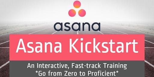 Asana Kickstart: An Interactive, Fast-track Training | Zero to Proficient