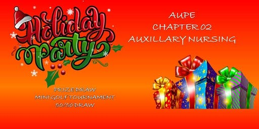 AUPE CHAPTER 02 HOLIDAY PARTY