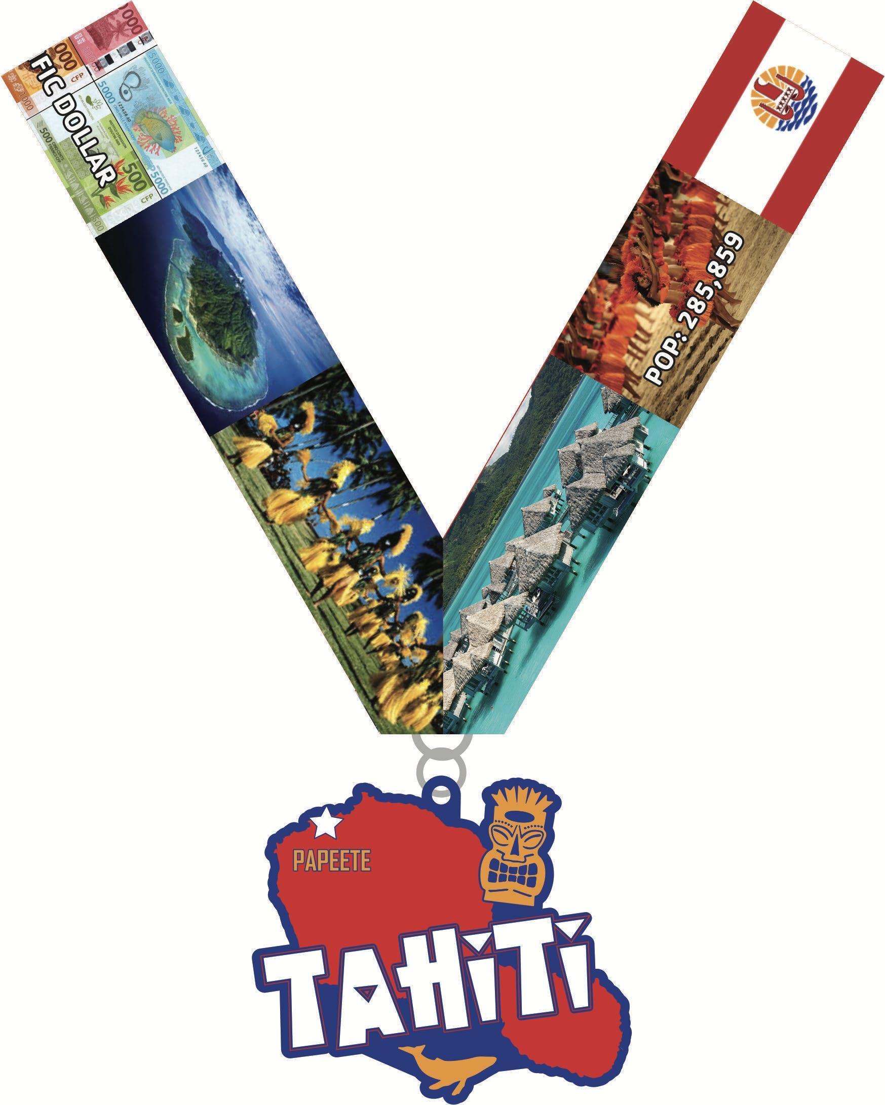 2019 Race Across Tahiti 5K 10K 13.1 26.2 -Columbus