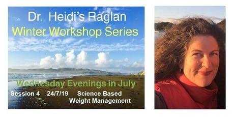 Dr. Heidi's Raglan Winter Workshop Series, Session 4, Science Based Weight Management  tickets