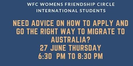 Need advice for you visa? Need advise on how to apply and the right way to migrate to Australia. tickets