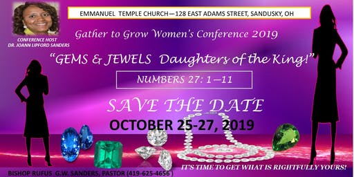 """""""Gems and Jewels Daughters of the King"""""""