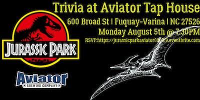 Jurassic Park at Aviator Tap House