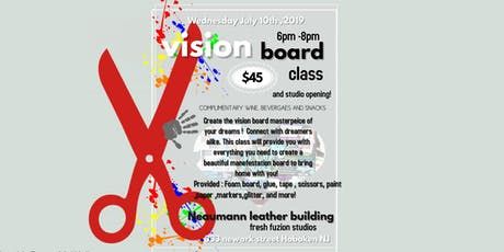 Vision board Class! tickets