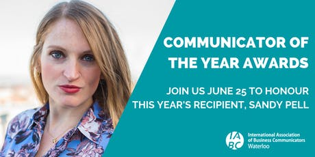 Communicator of the Year Awards & AGM tickets