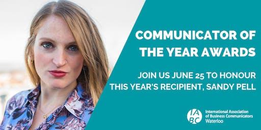 Communicator of the Year Awards & AGM