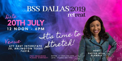 BSS Dallas Women's Retreat