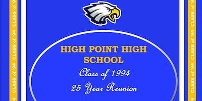 High Point High School Class of 1994 25th Year Reunion