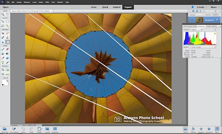Photography Course 22-Photoshop Elements (Eltham) image
