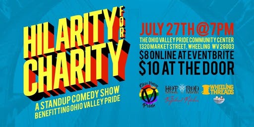 Hilarity for Charity: A Standup Comedy Show Benefitting Ohio Valley Pride