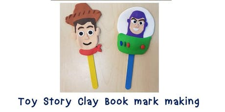 Toy Stoy Clay Book Mark Making  tickets