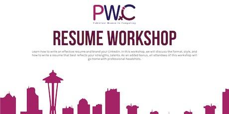 PWiC Seattle: Resume & LinkedIn Workshop (Free Headshot) tickets