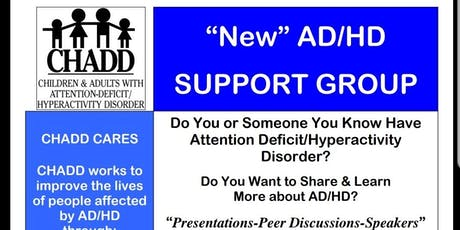 July 27th - New CHADD ADHD Support Group in Germantown tickets
