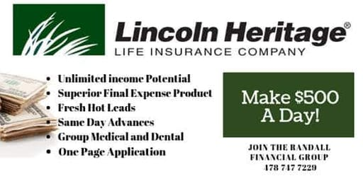 Universal Benefits/Lincoln Heritage Opportunity Seminar