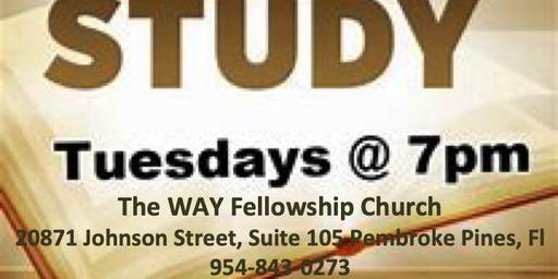 Tuesday's Bible Study