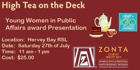Young Women in Public Affairs Award High Tea tickets