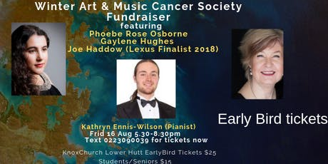Winter Art & Music Soiree - Cancer Society Fundraiser tickets