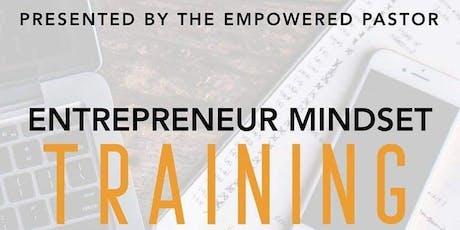 Entrepreneur Mindset Training tickets