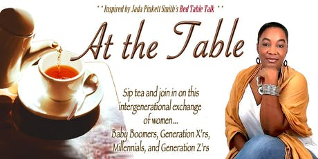 """At the Table"" Women's Tea & Conversations tickets"