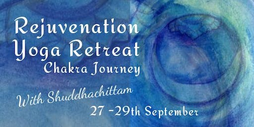 Rejunvenation Retreat Chakra Journey with Anna Ellery