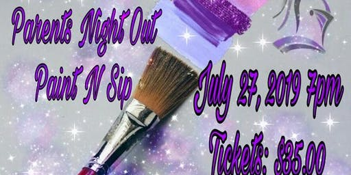 Columbia Knights:Parents Knight Out/Paint N Sip