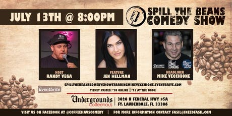 Spill the Beans Stand Up Comedy Show- Mike Vecchione (Special Event) tickets