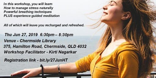 Happiness Time - A free Workshop