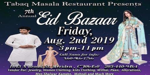 Eid Bazaar at Tabaq Masala