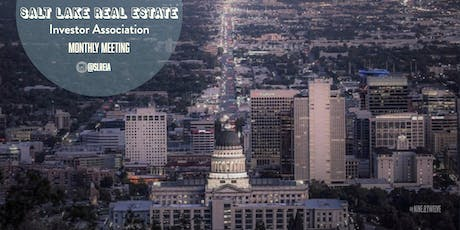 Salt Lake Real Estate Investor Monthly Meeting tickets