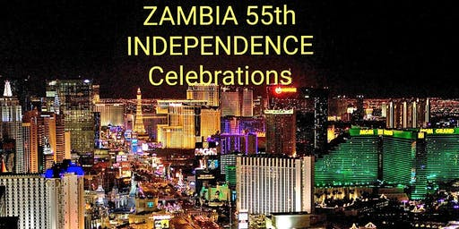ZAMBIA 55TH  INDEPENDENCE EVENT LAS VEGAS