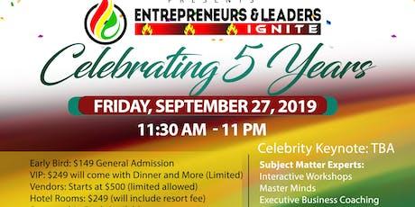 Entrepreneurs & Leaders Ignite Ready Set Go Foundation tickets