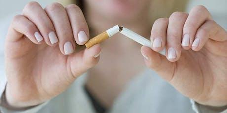 Stoppen Met Roken in Zepperen Vóór De Vakantie tickets