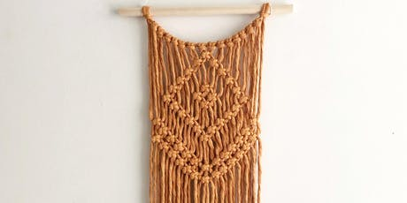 Beginner Macrame Wall Hanging Class tickets