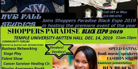 Shoppers Paradise and NVR Black Expo 2019  tickets