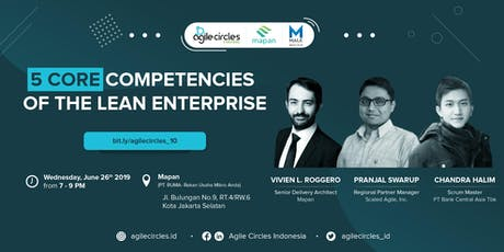 Agile Workplace | Five Core Competencies of the Lean Enterprise by SAFE 4.6 tickets