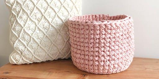 Crochet Basket Class