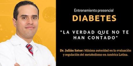 """""""Diabetes, la verdad que no tehan contado"""" tickets"""