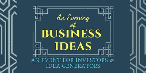 An Evening of Business Ideas