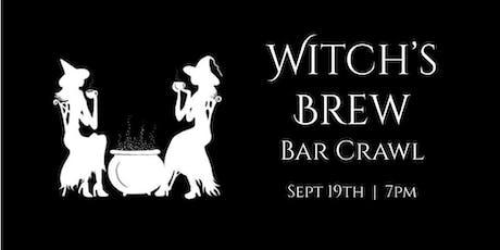 Witch's Brew Bar Crawl tickets