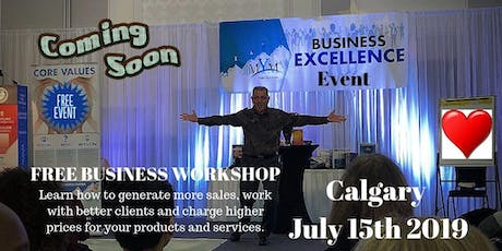 Mastering You Business For Maximum Profit & Success Calgary tickets