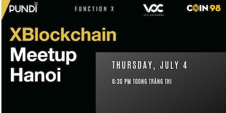 XBlockchain Meetup: Hanoi tickets