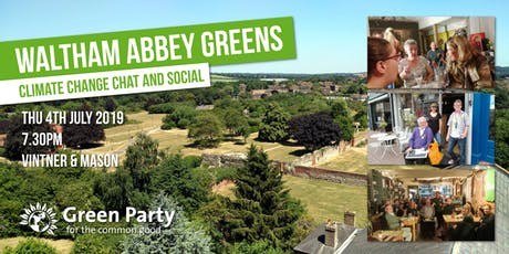 Waltham Abbey Greens - Climate Change chat and social tickets