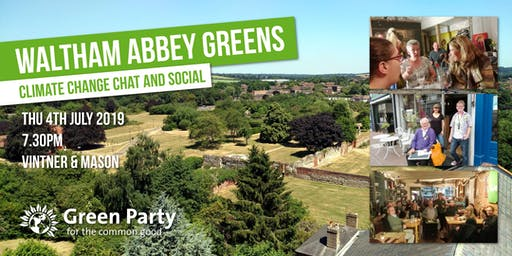 Waltham Abbey Greens - Climate Change chat and social