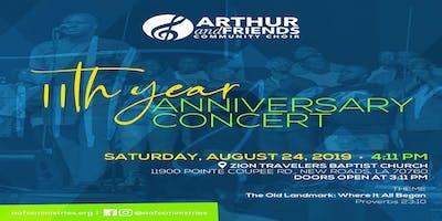 Arthur & Friends Community Choir 11th Year Anniversary