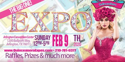 Dallas Quinceanera Expo February 09th, 2020 at the Arlington Convention Center