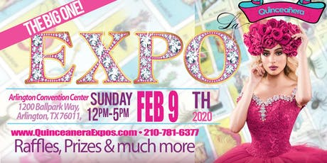 Dallas Quinceanera Expo February 09th, 2020 at the Arlington Convention Center tickets