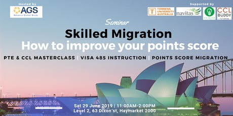 Skilled Migration and How to improve points score tickets