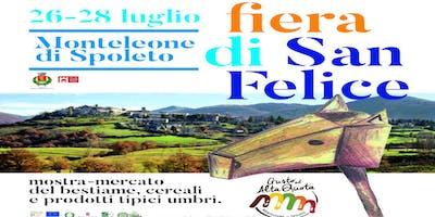 """8^ EDIZIONE """"FIERA DI SAN FELICE - MOSTRA MERCATO DEL BESTIAME, DEI CEREALI"""