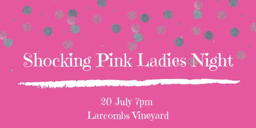 Shocking Pink Ladies Night